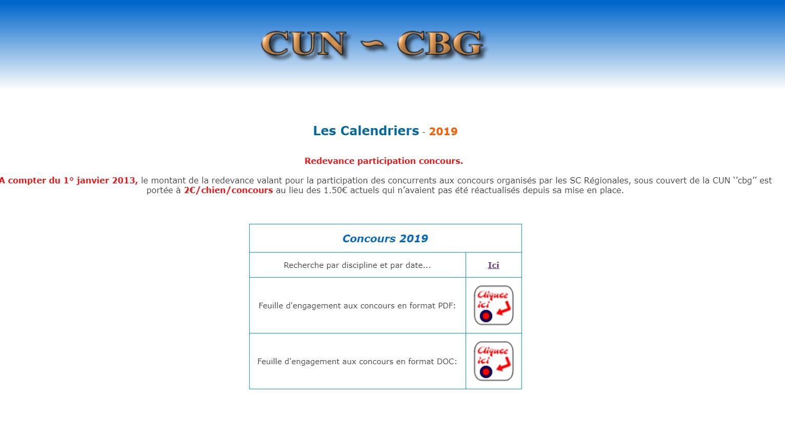 Calendrier Concours Obeissance 2022 Concours et Calendrier | Société Centrale Canine