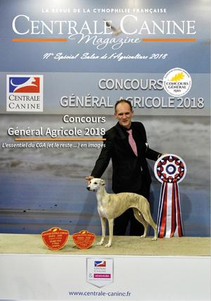 centrale canine licence 2018